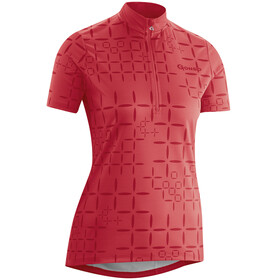 Gonso Loure - Maillot manches courtes Femme - rouge